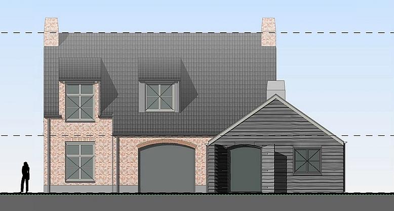 Nieuwbouw vrijstaande woning te scherpenzeel r r bouw for Nieuwbouw vrijstaande woning